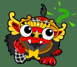 Balinese Barong sticker #140564