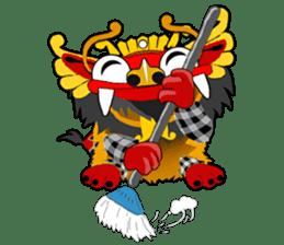 Balinese Barong sticker #140572