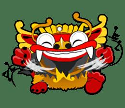 Balinese Barong sticker #140583