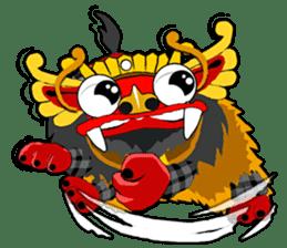 Balinese Barong sticker #140586