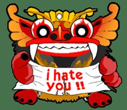 Balinese Barong sticker #140591