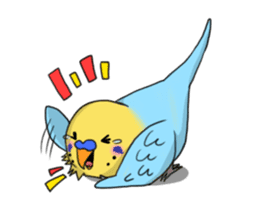 Parakeet's my home! sticker #161495
