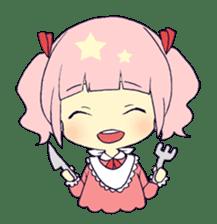 merry girl sticker #166261