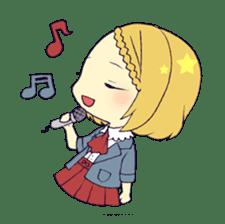 merry girl sticker #166277