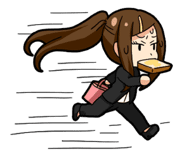 Some office ladies' Lazy Everyday Life sticker #168101