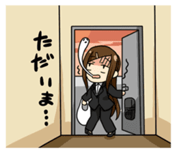 Some office ladies' Lazy Everyday Life sticker #168102