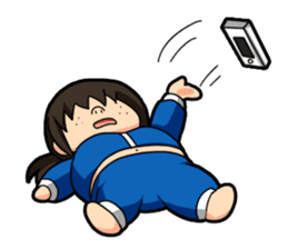 Some office ladies' Lazy Everyday Life sticker #168126