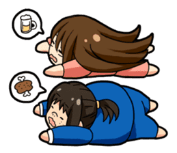 Some office ladies' Lazy Everyday Life sticker #168138