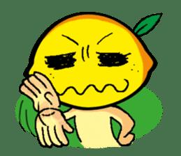 Hello! Lemon man's every day! sticker #172456