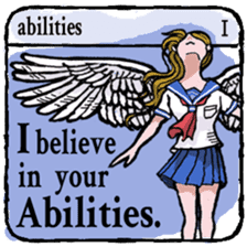 40 things I believe in. (English) sticker #172641