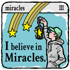 40 things I believe in. (English) sticker #172643