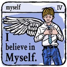 40 things I believe in. (English) sticker #172644