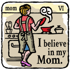40 things I believe in. (English) sticker #172646