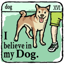 40 things I believe in. (English) sticker #172656