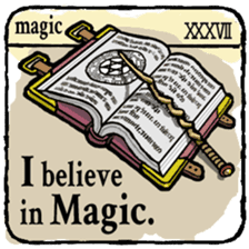 40 things I believe in. (English) sticker #172677