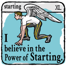 40 things I believe in. (English) sticker #172680