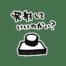 He is an ASTRONAUT. sticker #187077