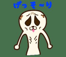 lovely slow loris sticker #206531