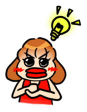 emiri_chan_stamp sticker #212621