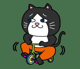 (78)Cats&Kappa Stamp 2 sticker #213973