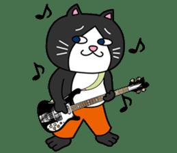 (78)Cats&Kappa Stamp 2 sticker #213994