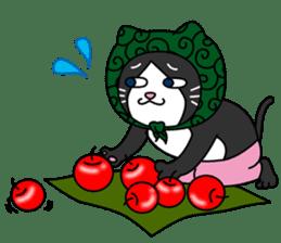 (78)Cats&Kappa Stamp 2 sticker #214006
