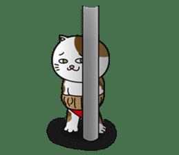 (78)Cats&Kappa Stamp 2 sticker #214010