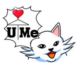 Dogs,Cats and Love Umbrellas1(Japanese) sticker #222161