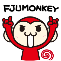 FJUMONKEY Sticker