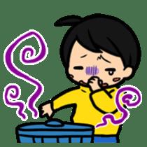 Haneru the  Underwhelming Boy sticker #224252