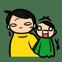 Haneru the  Underwhelming Boy sticker #224254