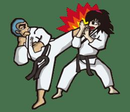 Kyokushin Karate -White- sticker #224298