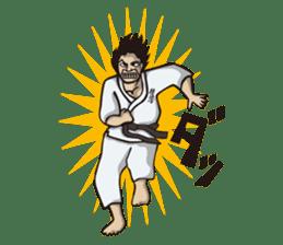 Kyokushin Karate -White- sticker #224299
