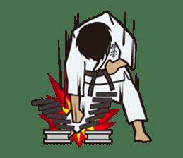 Kyokushin Karate -White- sticker #224301