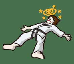Kyokushin Karate -White- sticker #224302