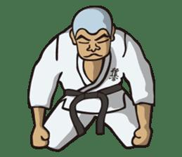 Kyokushin Karate -White- sticker #224303