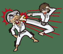 Kyokushin Karate -White- sticker #224304