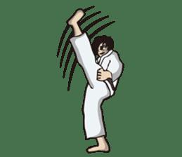 Kyokushin Karate -White- sticker #224309