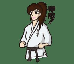 Kyokushin Karate -White- sticker #224312