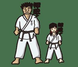 Kyokushin Karate -White- sticker #224313
