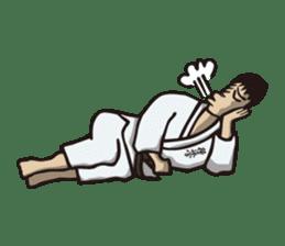 Kyokushin Karate -White- sticker #224317