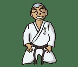 Kyokushin Karate -White- sticker #224318