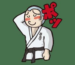 Kyokushin Karate -White- sticker #224319