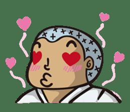 Kyokushin Karate -White- sticker #224326
