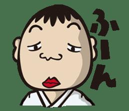 Kyokushin Karate -White- sticker #224327