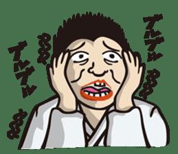 Kyokushin Karate -White- sticker #224328