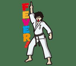 Kyokushin Karate -White- sticker #224330