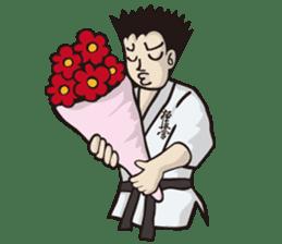 Kyokushin Karate -White- sticker #224331
