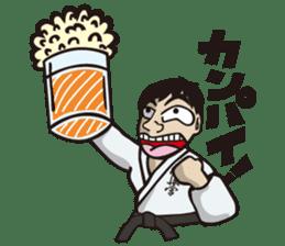 Kyokushin Karate -White- sticker #224333