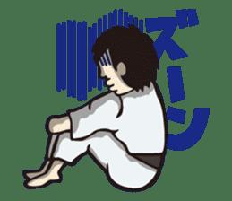 Kyokushin Karate -White- sticker #224334